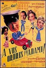 À Vos Ordres, Madame (1942) afişi