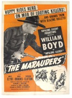 The Marauders (1947) afişi