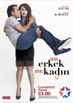 1 Erkek 1 Kadın Sezon 5 (2012) afişi