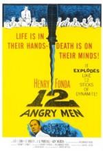12 Kızgın Adam (1957) afişi