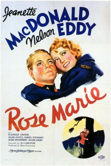 Rose-Marie (1936) afişi