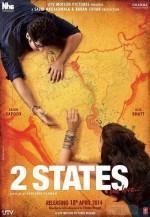 2 States (2014) afişi