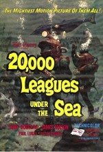 20,000 Leagues Under The Sea (1954) afişi