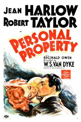 Personal Property (1937) afişi