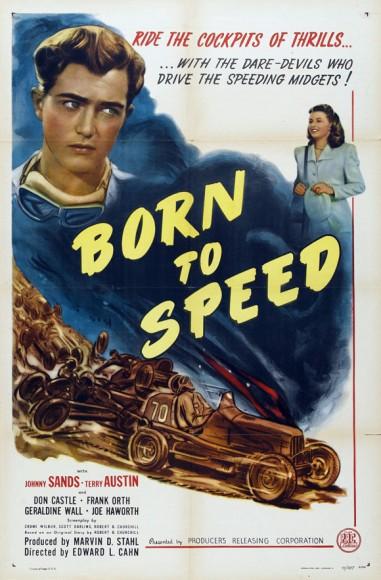 Born To Speed (1947) afişi
