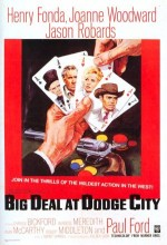 A Big Hand For The Little Lady (1966) afişi