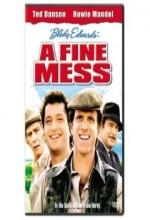 A Fine Mess (1986) afişi