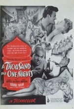 A Thousand And One Nights (1945) afişi