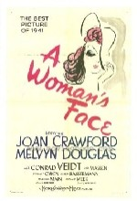 A Woman's Face (1941) afişi