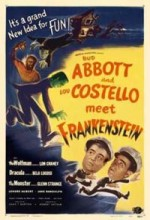 Abbott And Costello Meet Frankenstein (1948) afişi