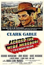 Across The Wide Missouri (1951) afişi