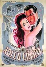Adieu Chérie (1946) afişi