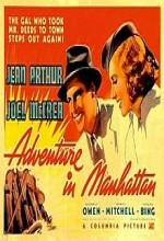 Adventure in Manhattan (1936) afişi