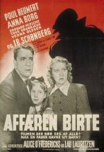 Affæren Birte (1945) afişi