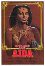 Aida (1953) afişi