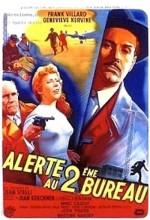 Alerte Au Deuxième Bureau (1956) afişi