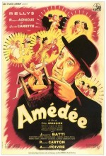 Amédée (1950) afişi