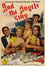 And The Angels Sing (1944) afişi