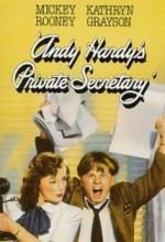 Andy Hardy's Private Secretary (1941) afişi