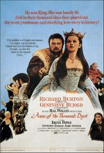 Anne Of The Thousand Days (1969) afişi