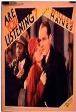 Are You Listening? (1932) afişi