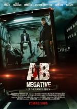 AB Negative (2013) afişi