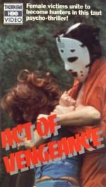 Act Of Vengeance (1974) afişi