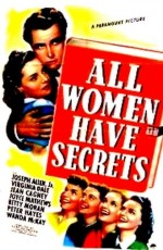 All Women Have Secrets (1939) afişi