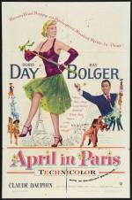 April in Paris (1952) afişi