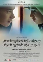 Aşk Hakkında Konuşmak (2013) afişi