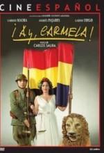 ¡Ay, Carmela! (1990) afişi