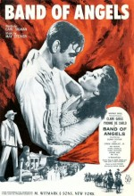 Band Of Angels (1957) afişi