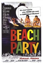 Beach Party (1963) afişi