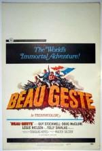 Beau Geste (ı) (1966) afişi