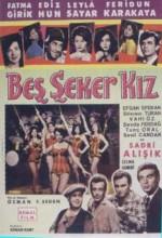 Beş şeker Kız (1964) afişi