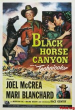 Black Horse Canyon (1954) afişi
