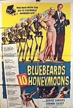 Bluebeard's Ten Honeymoons (1960) afişi