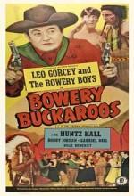 Bowery Buckaroos (1947) afişi