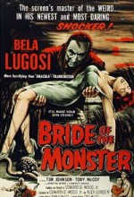 Bride Of The Monster (1955) afişi