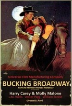 Bucking Broadway (1917) afişi
