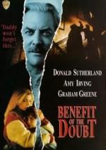Benefit Of The Doubt (1993) afişi