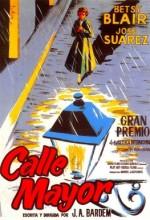 Calle Mayor (ı) (1956) afişi