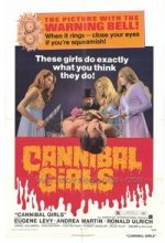 Cannibal Girls (1973) afişi