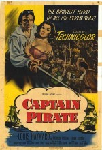 Captain Pirate (1952) afişi