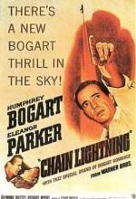 Chain Lightning (1950) afişi