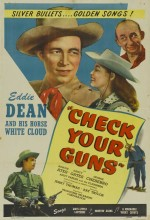 Check Your Guns (1948) afişi