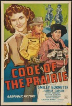 Code Of The Prairie (1944) afişi
