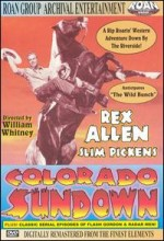 Colorado Sundown (1952) afişi