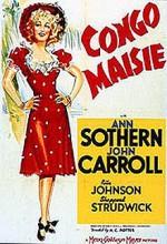 Congo Maisie (1940) afişi