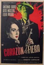 Corazón De Fiera (1951) afişi